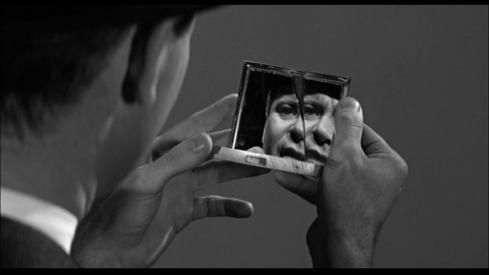 The mirror... it's broken.